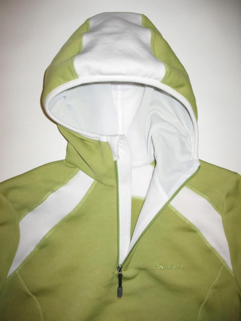 Кофта ODLO fleece hoodies jersey lady (размер S) - 2