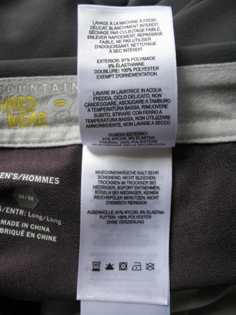 Штаны MOUNTAIN HARDWEAR Navigation softshell pants (размер M) - 15