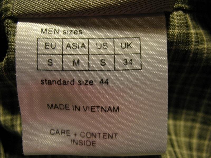 Рубашка JACK WOLFSKIN shirts  (размер S/M) - 6