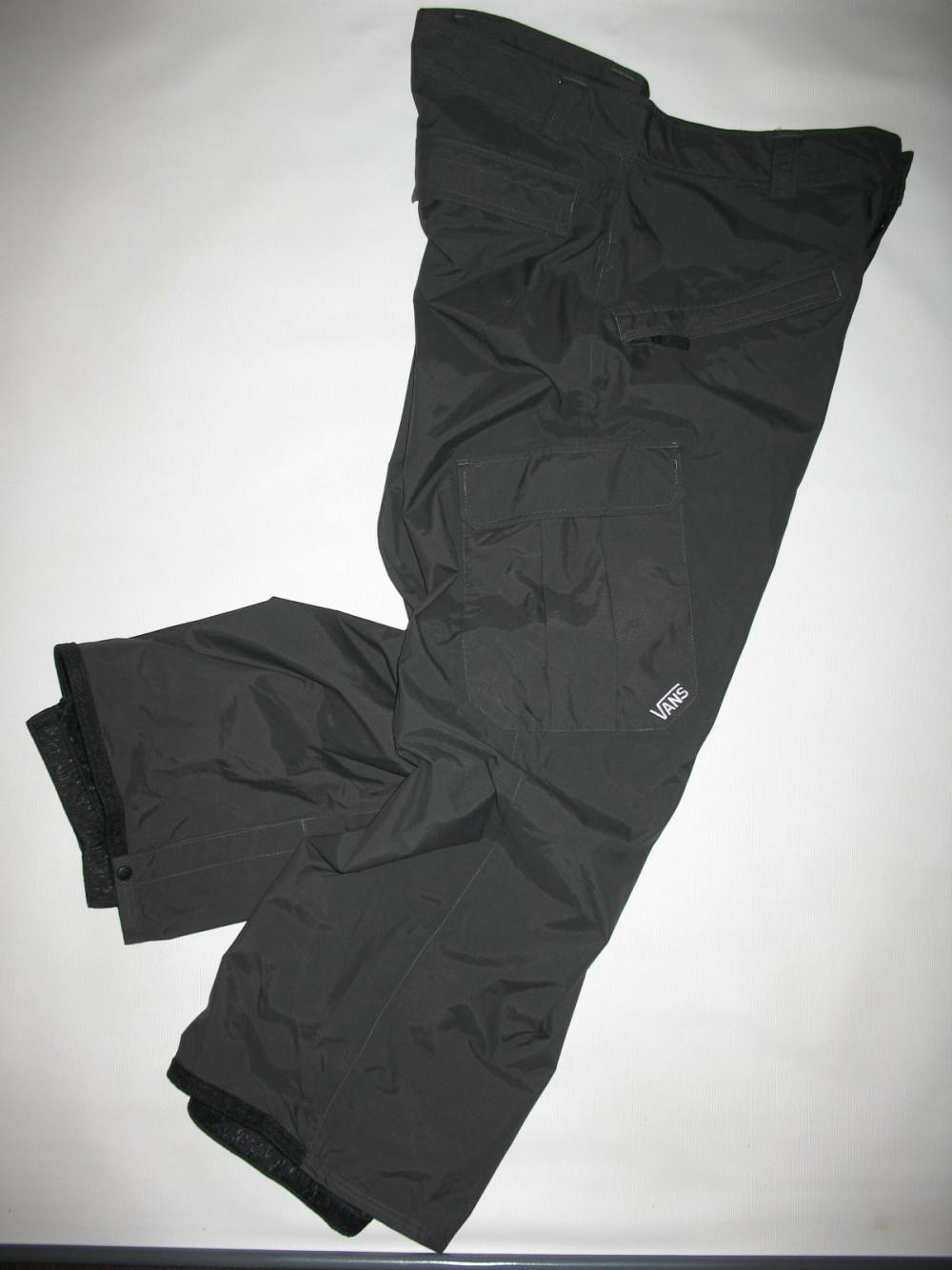 Штаны VANS 10/10 snowboard pants (размер XL) - 3