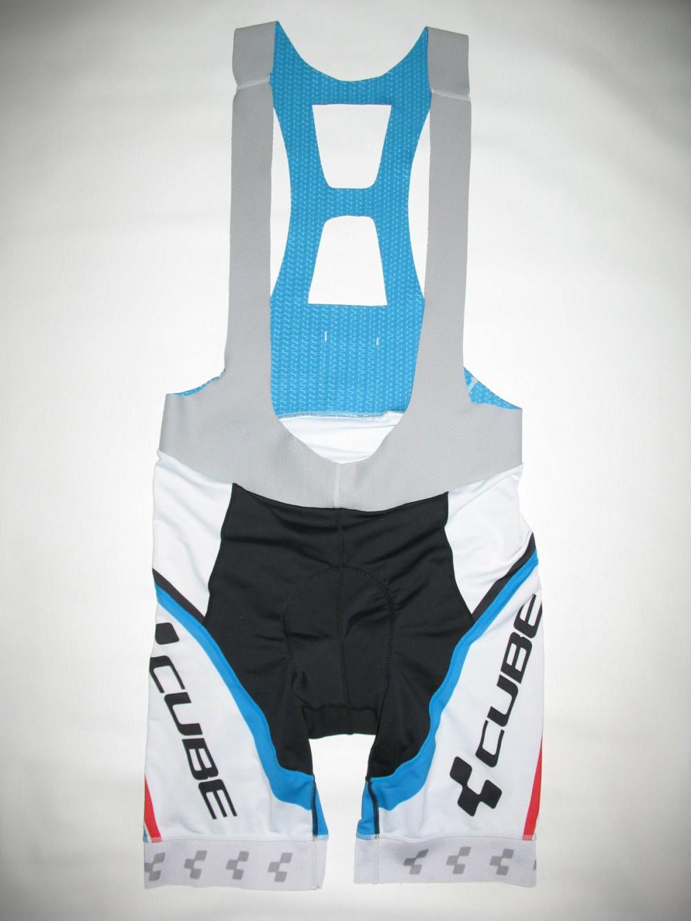 Велошорты CUBE team bib shorts (размер XXL) - 1