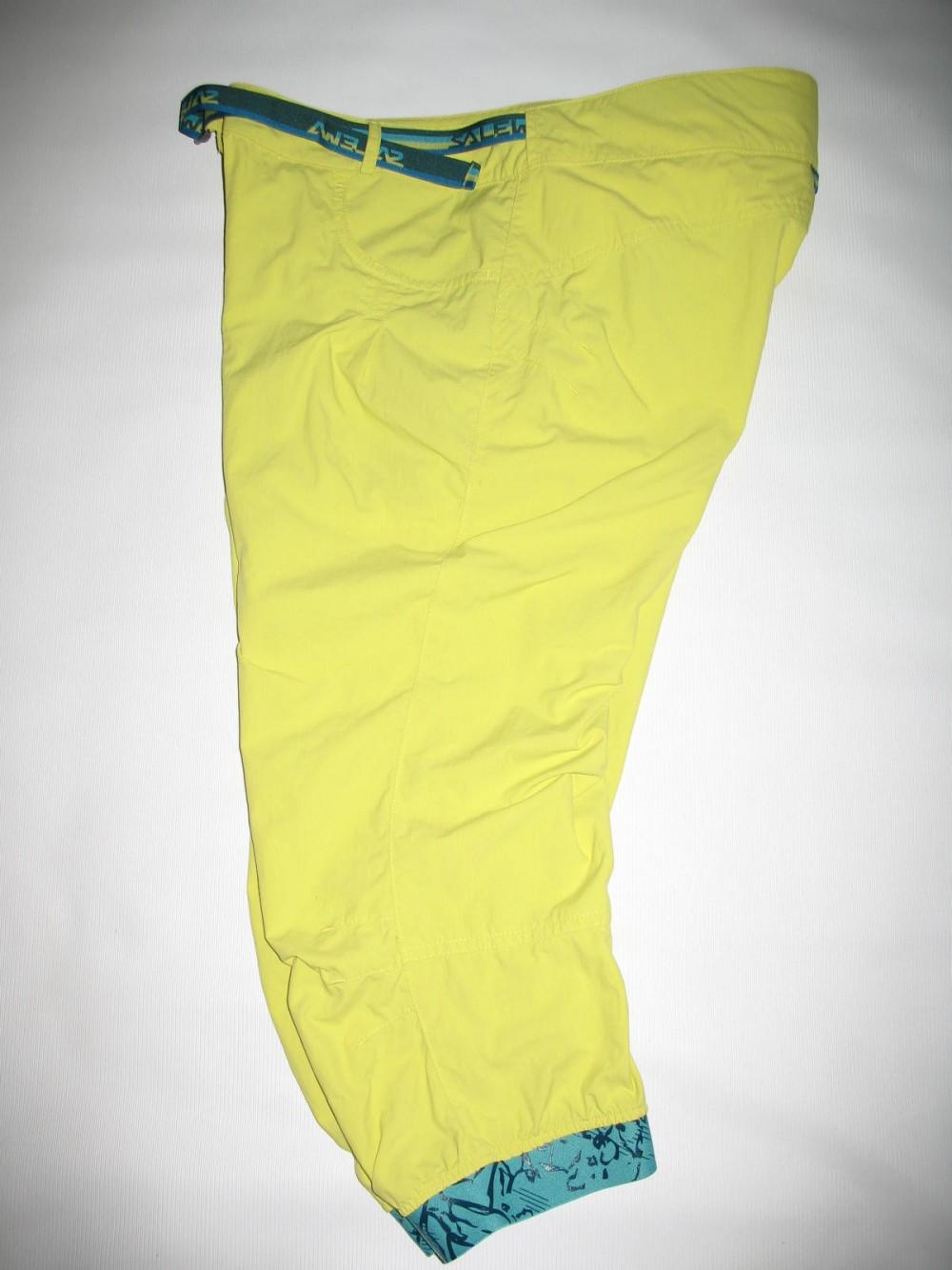 Штаны SALEWA rhytmo dry 3/4 pant lady (размер М) - 4