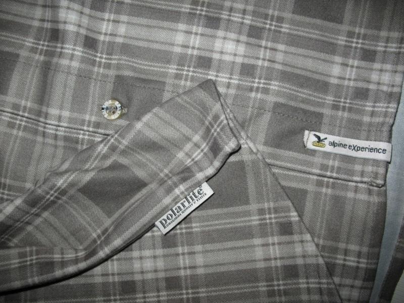 Рубашка SALEWA diamond shirt  (размер M) - 5