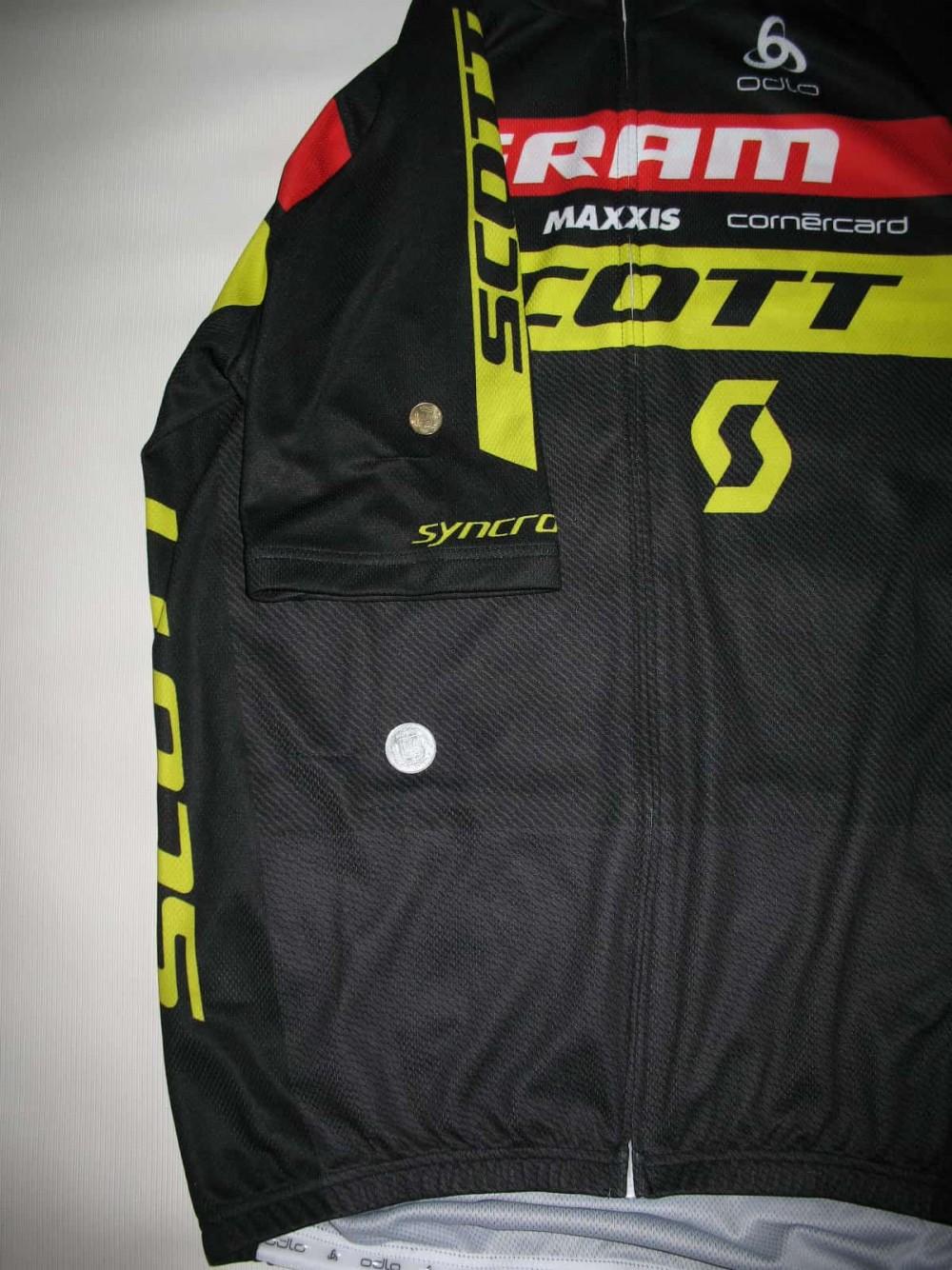 Веломайка ODLO scott sram cycling jersey (размер L) - 12