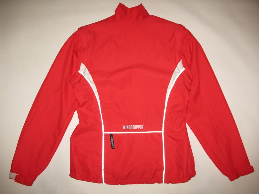 Куртка GORE bike wear 2in1 windstopper red jacket lady (размер 38/M) - 2