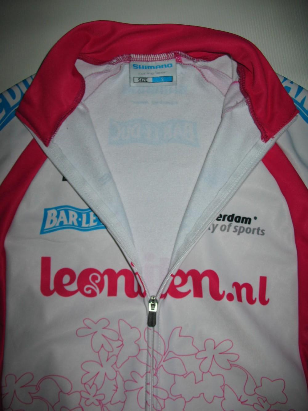 Велокофта SHIMANO leontien fleece cycling jacket lady (размер S) - 3