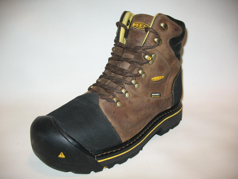 Ботинки KEEN milwaukee waterproof boots (размер US8/UK7/EU41(на стопу 260 mm)) - 4