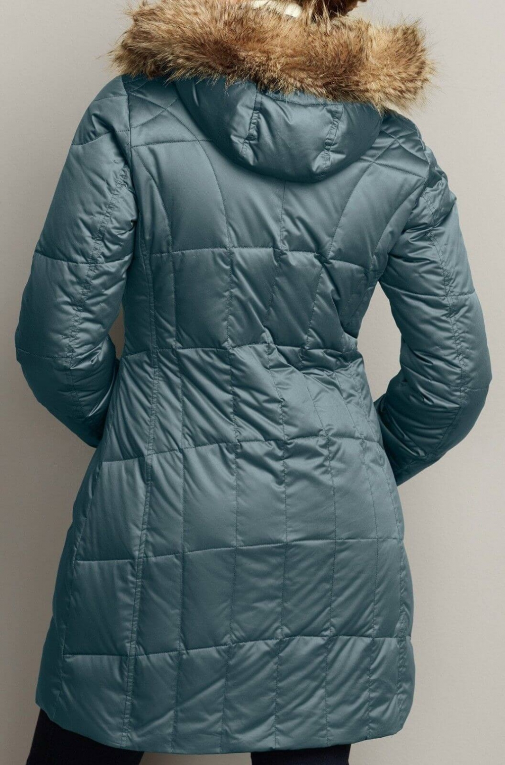 Куртка EDDIE BAUER Lodge Down Parka lady (размер SM-на рост +-170 см) - 1