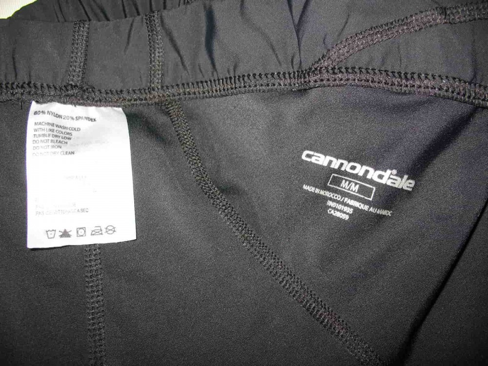 Велошорты CANNONDALE cycling shorts (размер M) - 3