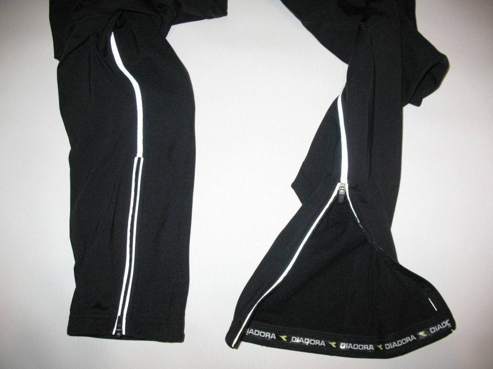 Велобрюки DIADORA cycling windstopper bib pants(размер XL/реально L) - 5