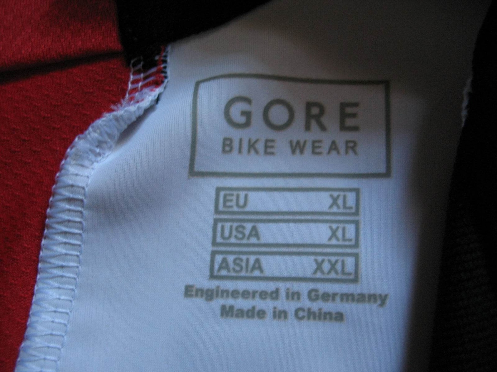 Веломайка GORE bike wear oxygen jersey (размер XL) - 6