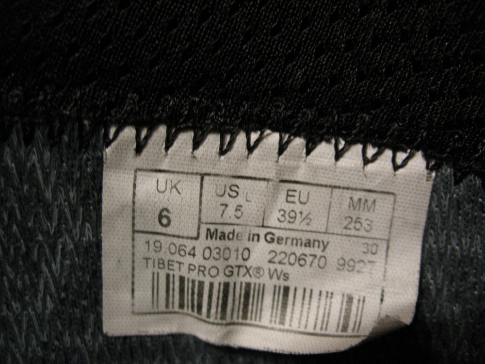 Ботинки LOWA  Tibet pro GTX lady  (размер US 7, 5/UK6/EU39, 5  (253mm)) - 12