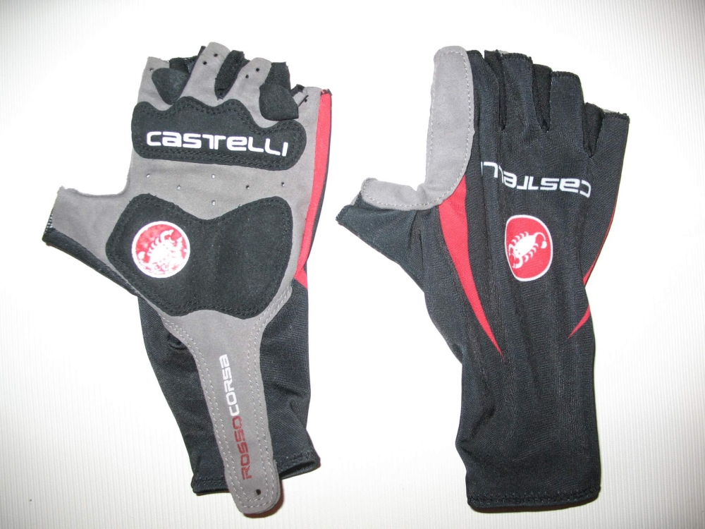 Велоперчатки CASTELLI rosso corsa classic glove lady/kids (размер XS) - 4