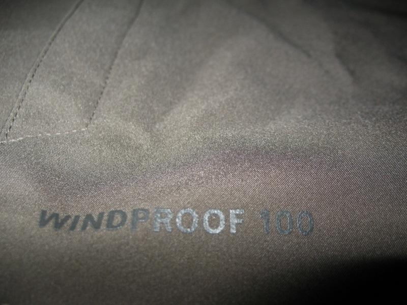Куртка VAUDE   Hurricane II hood softshell jacket  (размер S/M) - 8
