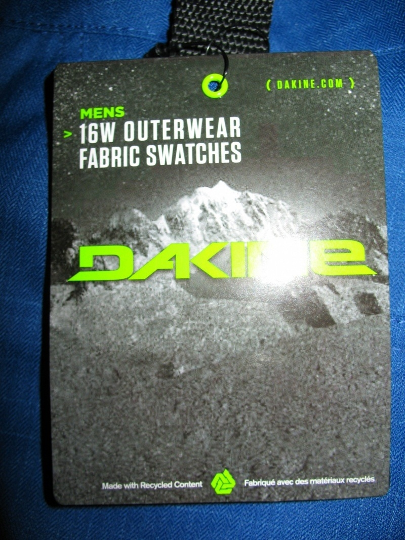 Штаны DAKINE Miner deep blue ski/snowboard pants (размер L) - 13