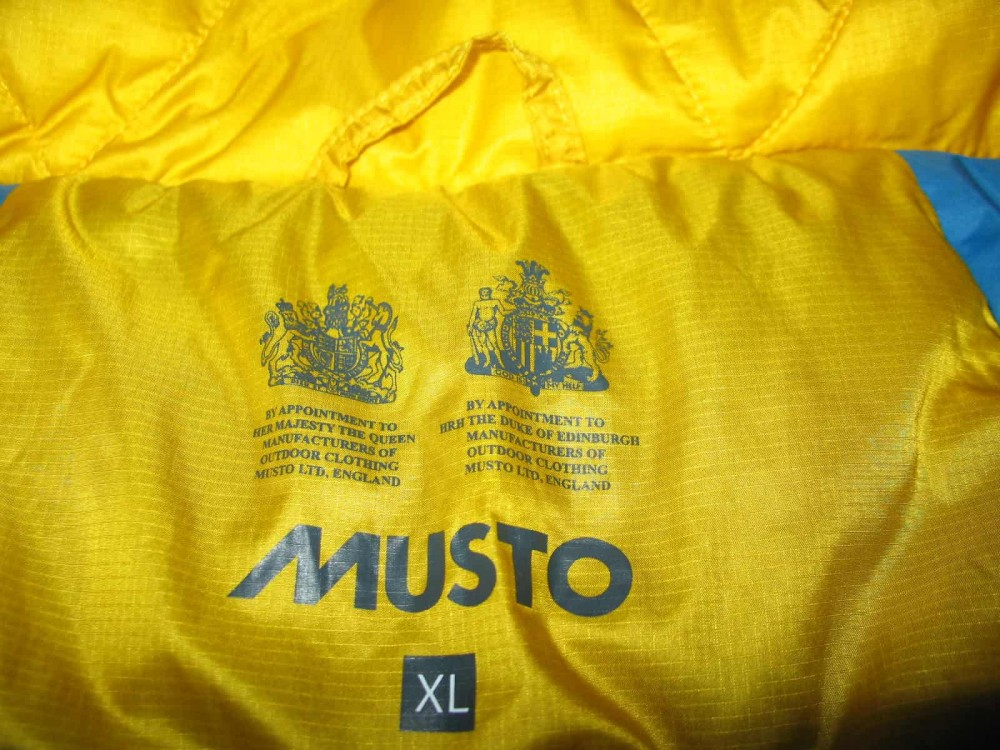 Куртка MUSTO еvolution primaloft jacket (размер XL) - 10