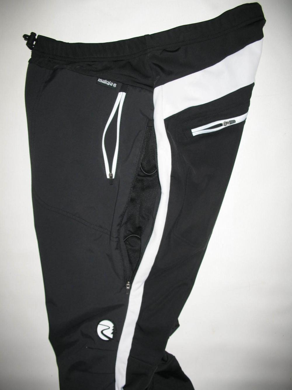 Велобрюки MALOJA sacha softshell pants (размер XL) - 4