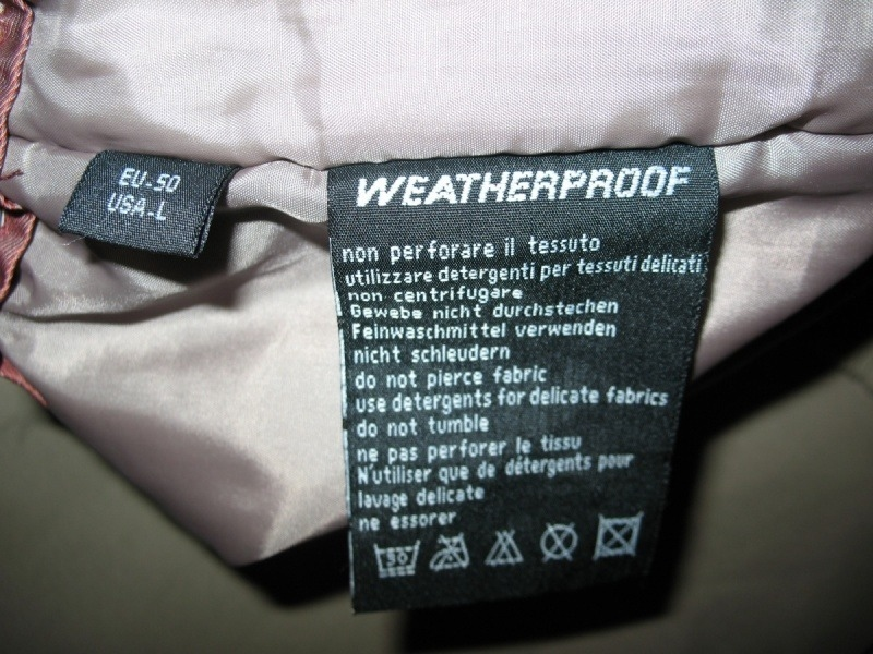 Штаны  SALEWA  weatherproof pant  (размер 50-L) - 12