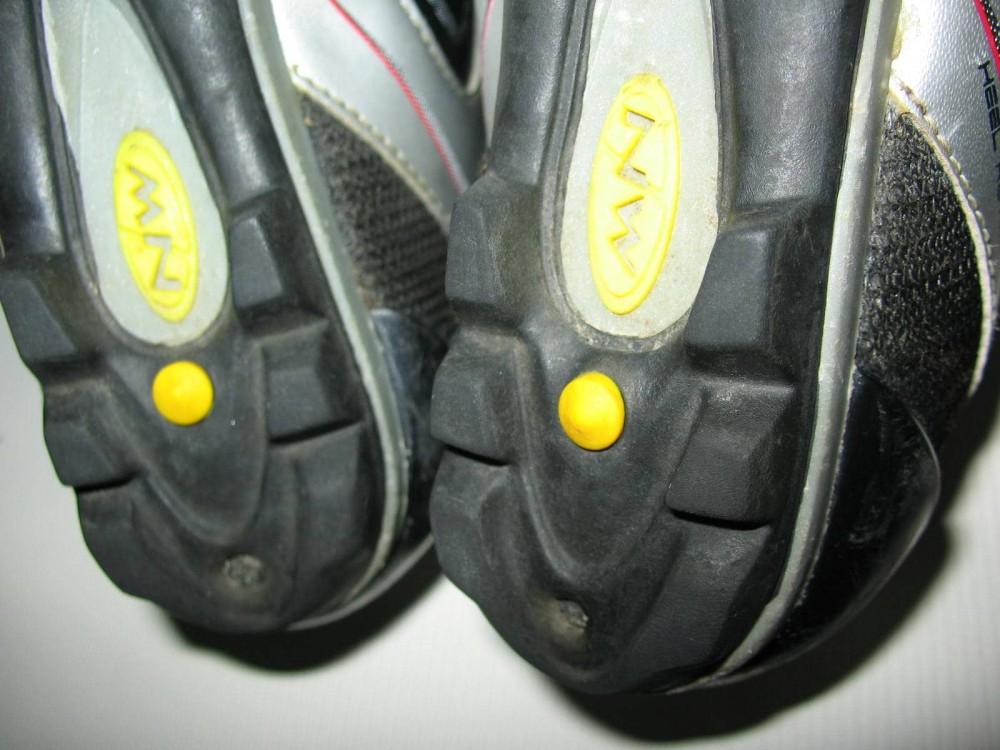 Велотуфли NORTHWAVE heel retention mtb shoes (размер UK2/US3/EU34(на стопу до 225 mm)) - 8