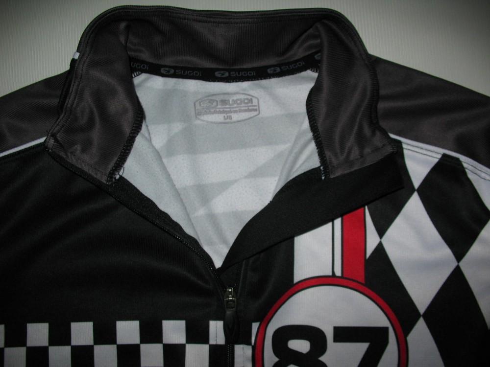 Велокофта SUGOI cycling fleece jacket (размер L) - 3