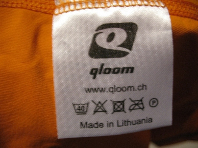 Футболка QLOOM bike jersey 2 lady (размер S) - 5