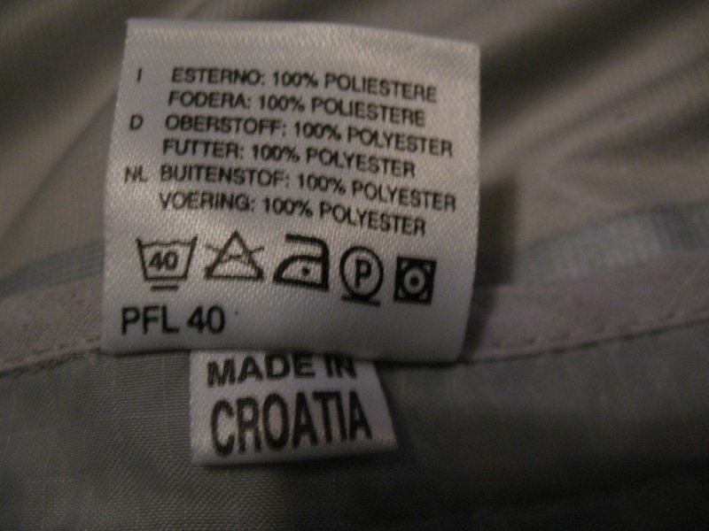 Кофта GOREbikewear GTX light jacket  (размер XXL) - 8