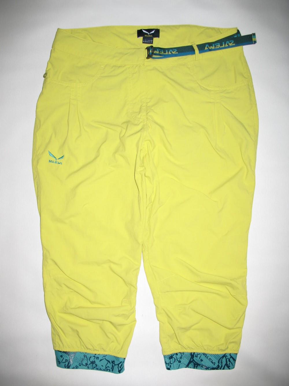 Штаны SALEWA rhytmo dry 3/4 pant lady (размер М) - 1