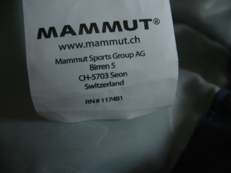 Куртка MAMMUT Petchora 2-s Goretex Performance Shell lady (размер M/L) - 16