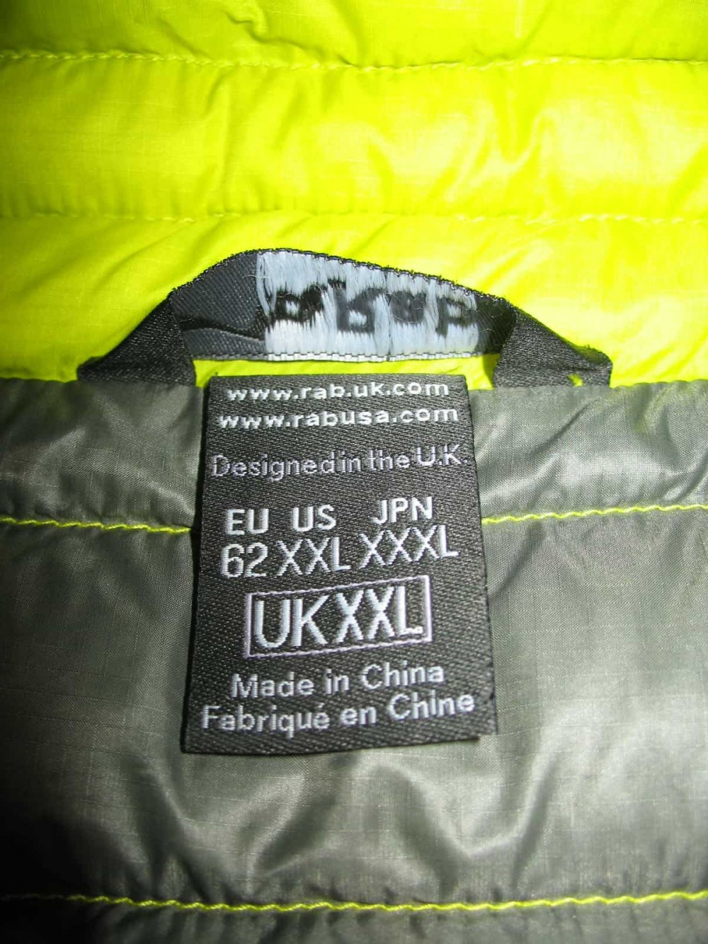 Куртка RAB microlight jacket (размер XXL/XXXL) - 3