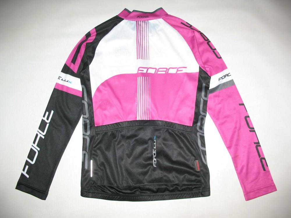 Велоджерси FORCE lux longsleeve cycling jersey lady (размер M) - 3