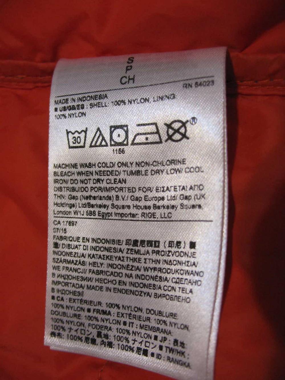 Жилет BANANA REPUBLIC primaloft vest (размер S) - 8