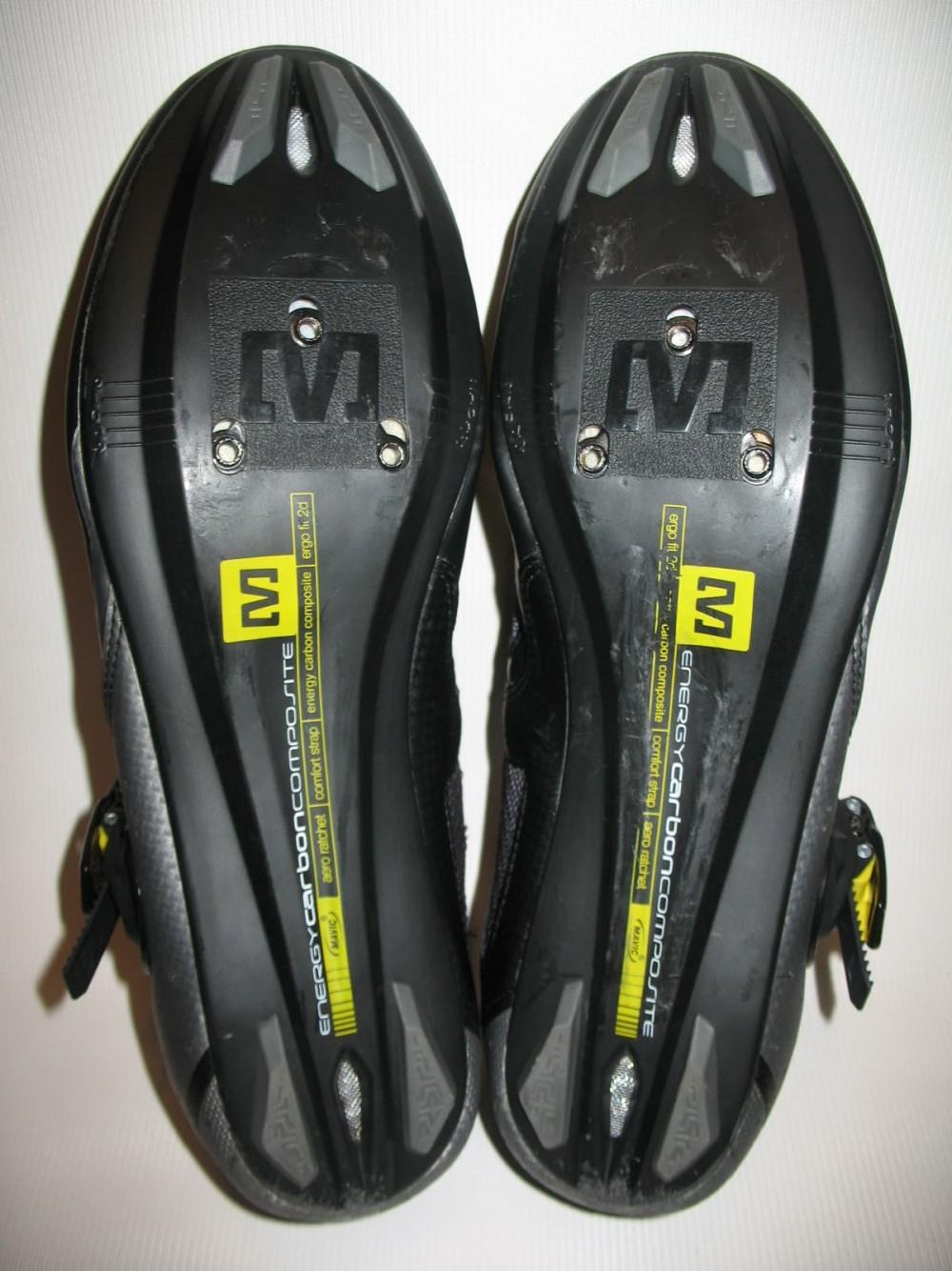 Велотуфли MAVIC avenir road cycling shoes (размер UK11/US11.5/EU46(на стопу до 295 mm)) - 9