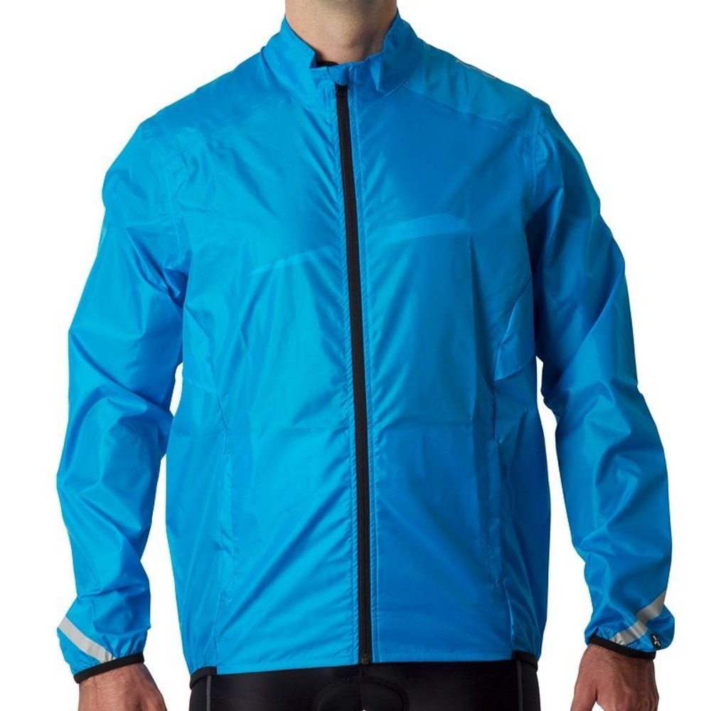 Куртка B'TWIN 300 waterproof cycling jacket (размер S/M) - 1