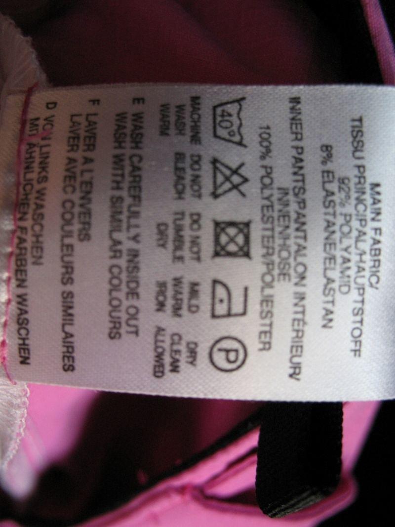 Шорты ODLO bike shorts lady (размер L) - 7