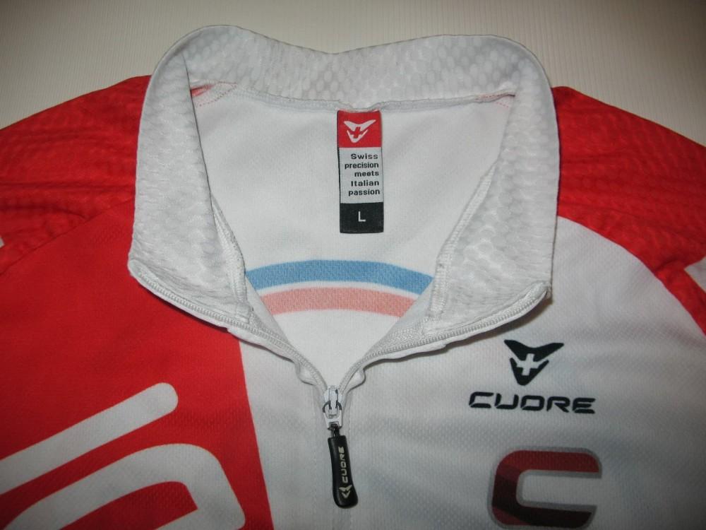 Веломайка CUORE blick trek cycling jersey (размер L) - 2
