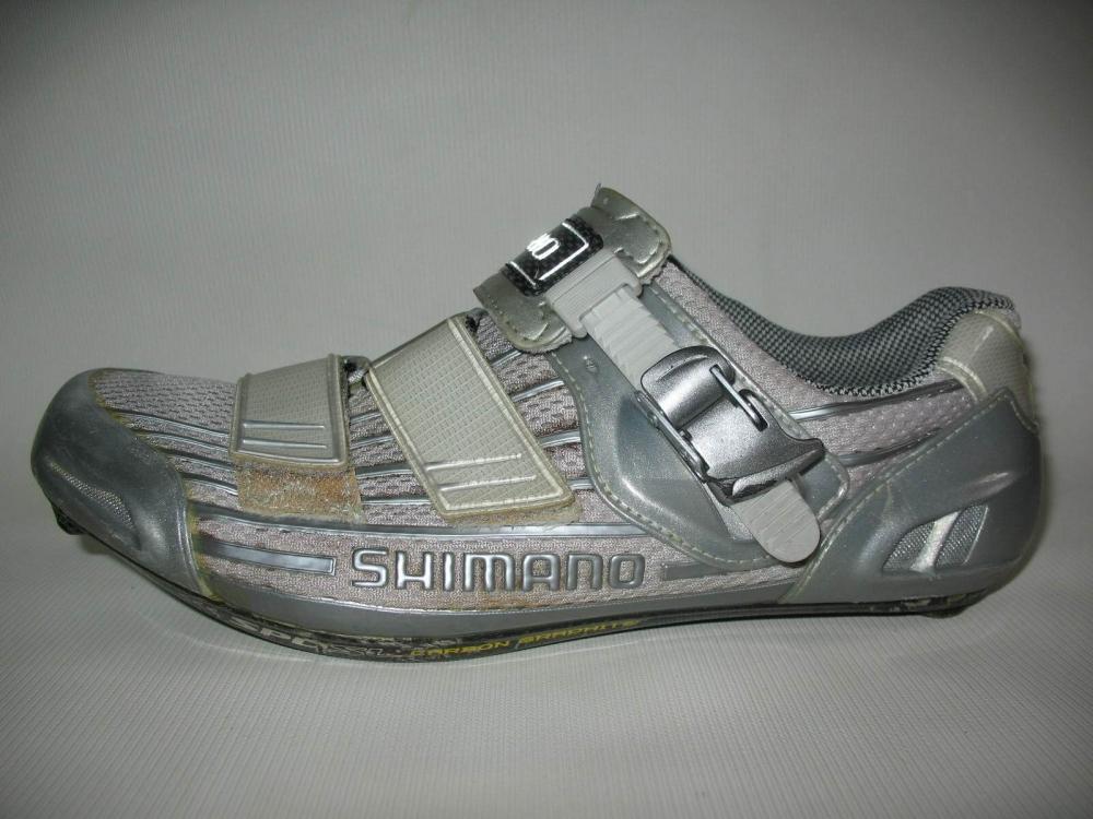 Велотуфли SHIMANO SH-R215 Road Shoes (размер US9/EU43(на стопу 272 mm)) - 1