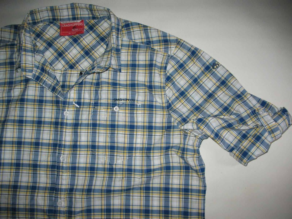 Рубашка CRAGHOPPERS nosiLife prospect shirt (размер 58-XXL/XXXL) - 3