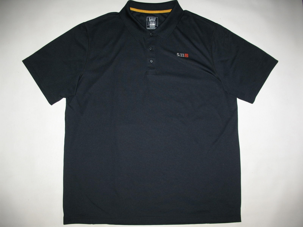Футболка 5.11  tactical professional pinnacle navy short sleeve polo jersey - 2