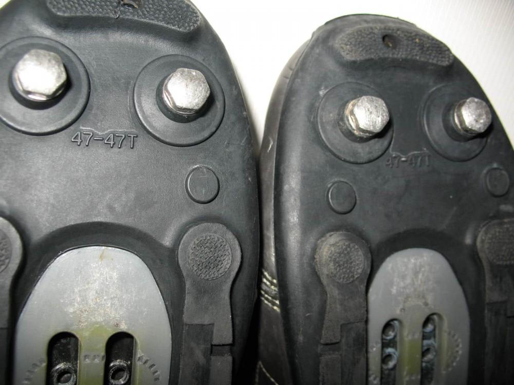 Велотуфли SHIMANO sh-m180g mtb bike shoes (размер UK12,5/EU47(на стопу до 298 mm)) - 9