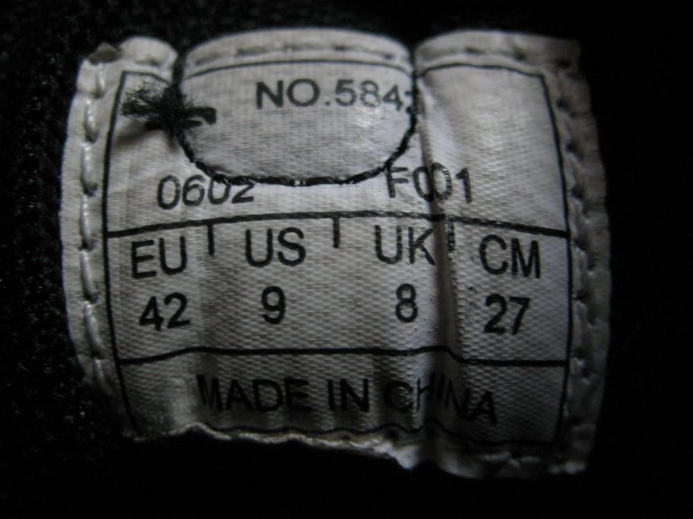 Велотуфли SCOTT vibram mtb bike shoes (размер US9/UK8/EU42(на стопу 265 mm)) - 8