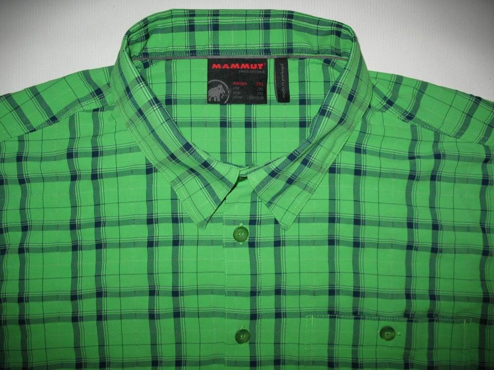 Рубашка MAMMUT belluno green shirt (размер XXL) - 2