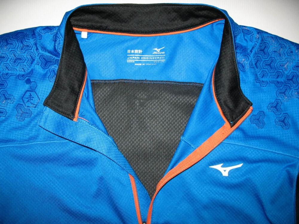 Футболка MIZUNO drylite hex tee jersey (размер M) - 6