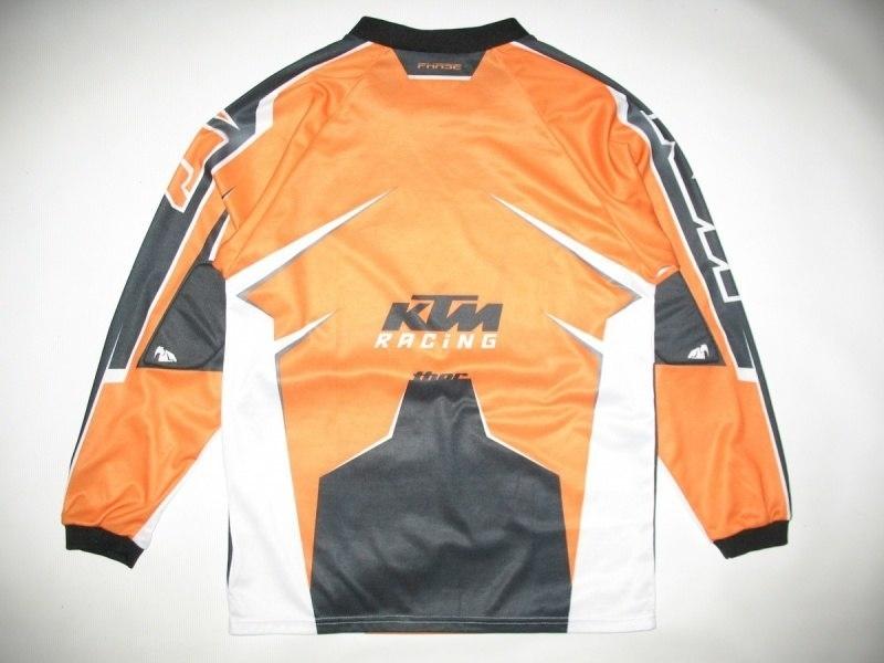 Футболка THOR phase KTM jersey  (подростковый L/взрослый XS) - 1