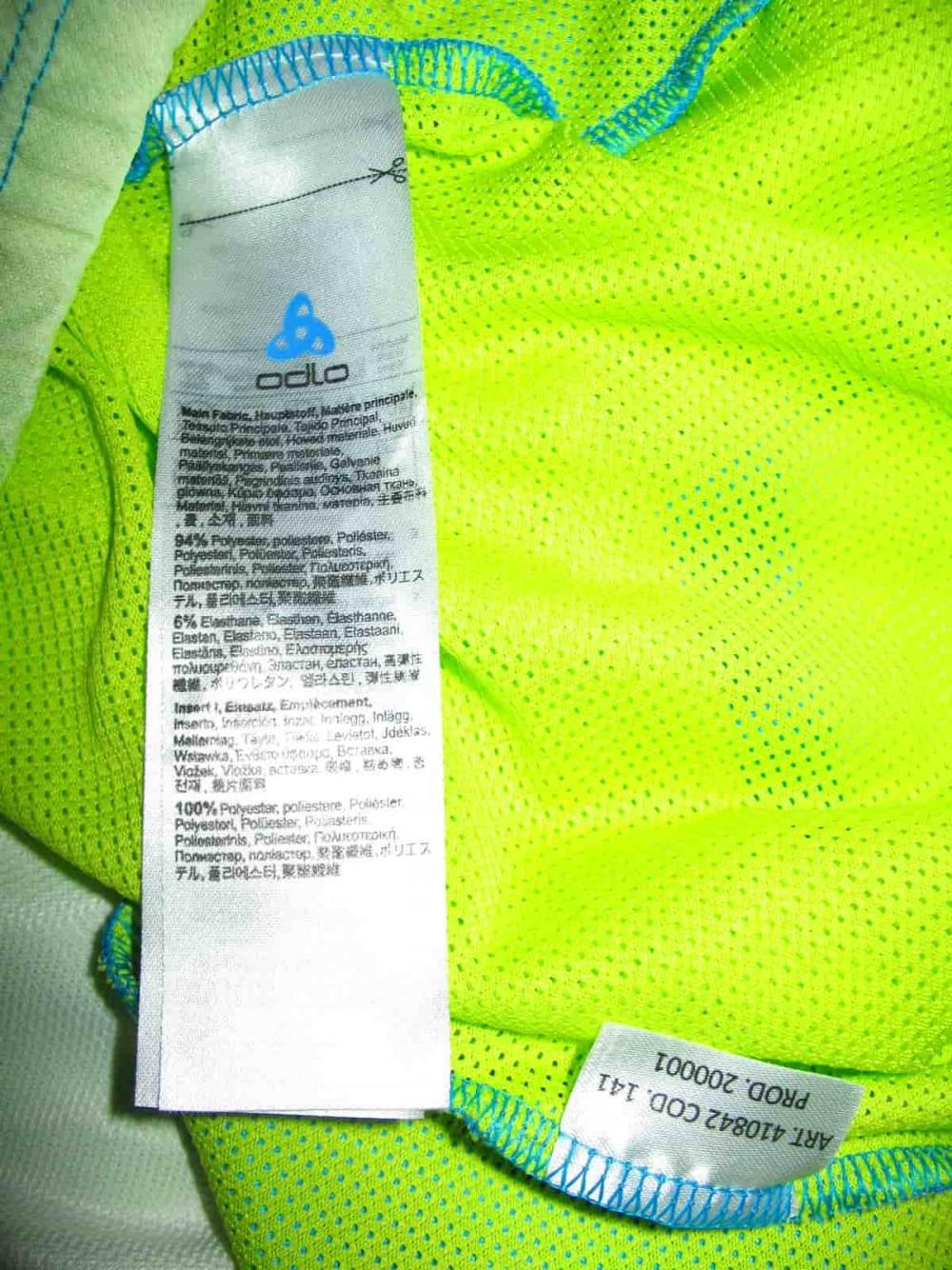 Футболка ODLO tech jersey (размер M) - 6