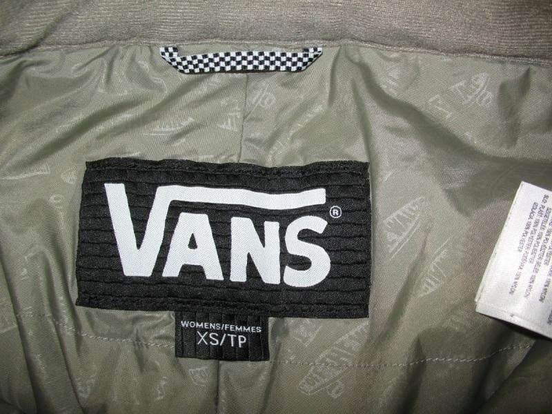 Штаны VANS 10/10 pants lady  (размер XS) - 10