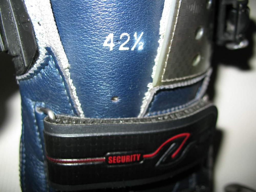 Велотуфли SIDI genius 5.5 carbon road shoes (размер EU42,5(на стопу 265mm)) - 8