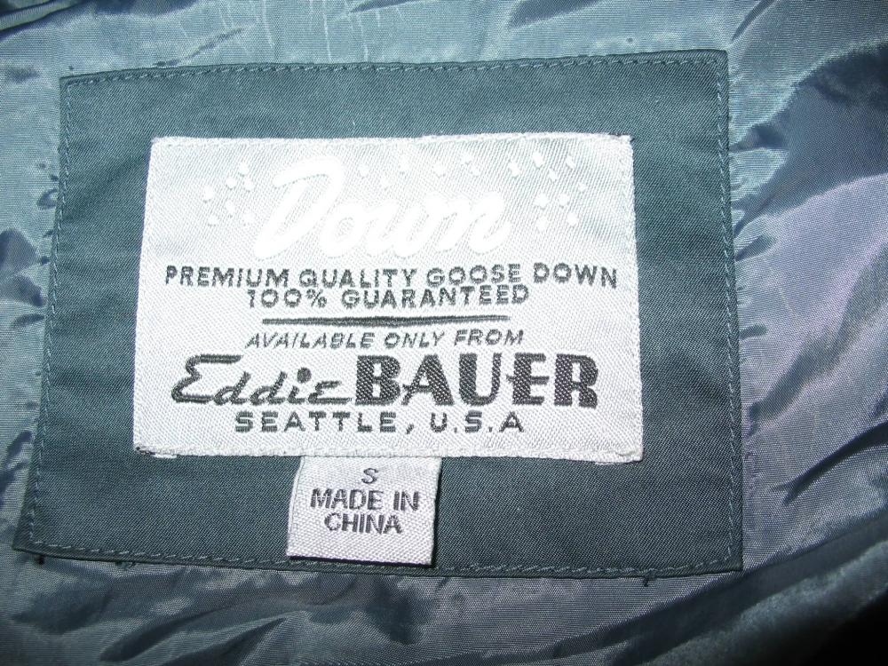 Куртка EDDIE BAUER Lodge Down Parka lady (размер SM-на рост +-170 см) - 12