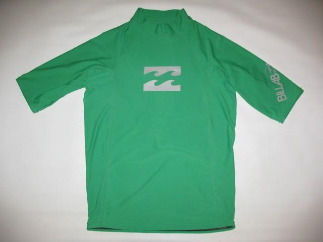 Футболка BILLABONG intersection ss green rashguard (размер XL) - 1
