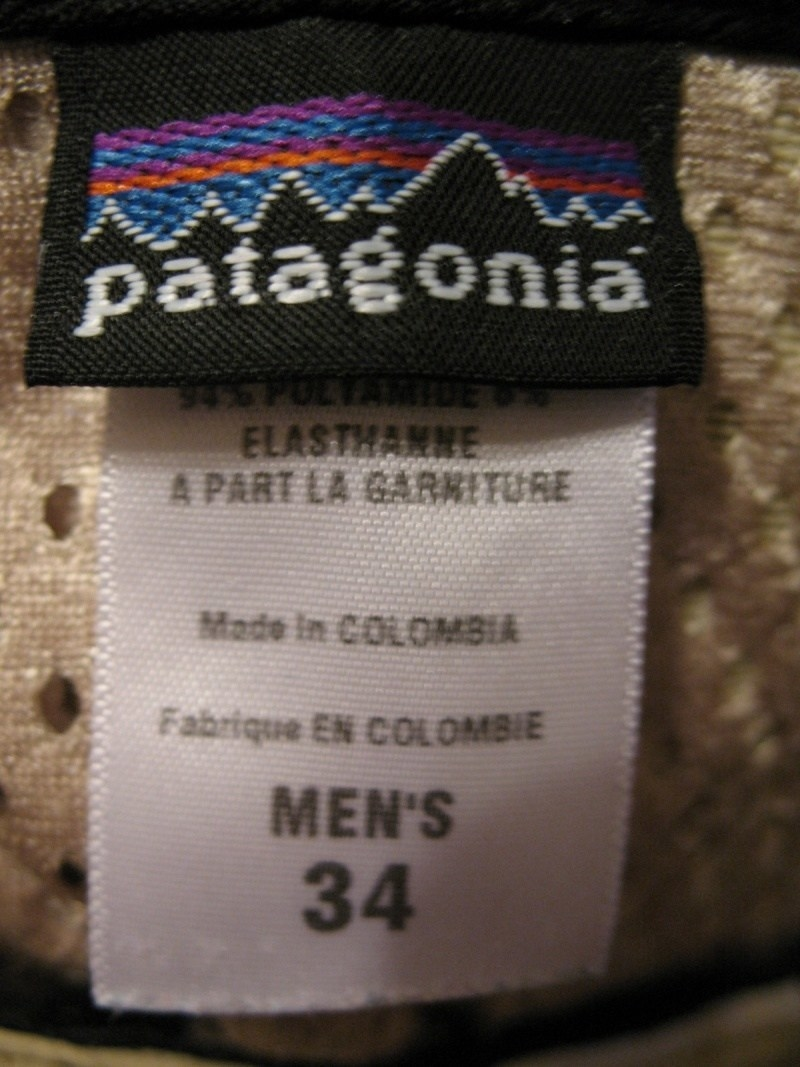 Штаны  PATAGONIA outdoor pants (размер 34-L) - 9