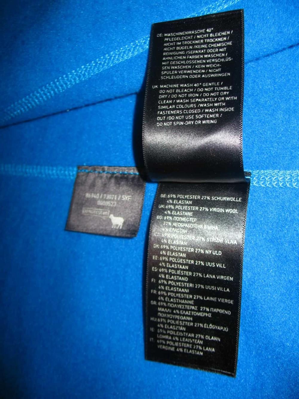 Жилет ORTOVOX merino fleece vest (размер S) - 8